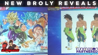 NEW Dragon Ball Super Movie Broly Reveals!! | Super Dragon Ball Heroes UVM5!!