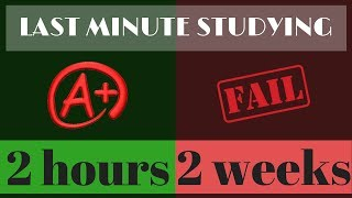 A+ EXAM TIPS: Cram studying the night before a test and passing!