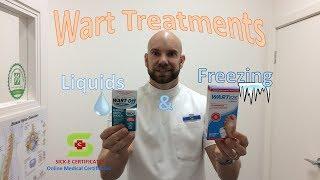 Treatments for Common Warts and Plantar Warts
