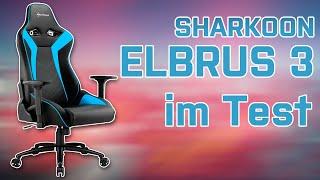 SHARKOON ELBRUS 3 - Gaming Stuhl getestet - GER/DE