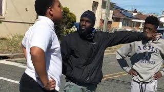 Amerikalı Müslüman genç kavgayı böyle ayırdı