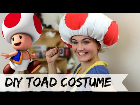 DIY Toad costume (No Sew)