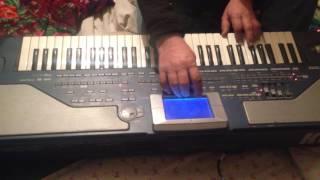 instrumental turkmen halk sazy Korg Pa800 2017 Amazing Pianist surprises people at a mall. turkmen