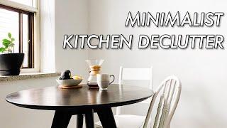 MINIMALIST KITCHEN DECLUTTER & ORGANIZATION   Simplifying Life With Minimalism