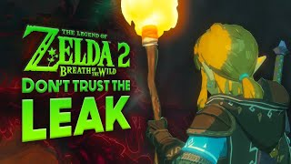 Breath of the Wild 2: BEWARE the Fake LEAKS!