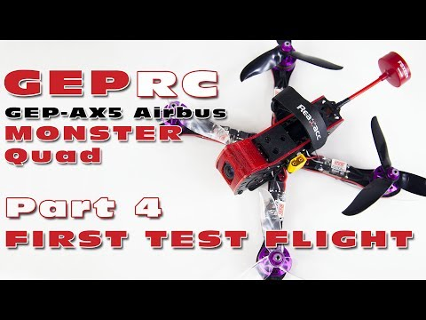First LOS test flight with the HGLRC F4 V5Pro flight controller :)