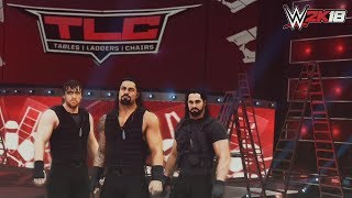 WWE 2K18 TLC Highlight Reel Promo: The Shield vs. Miz, Cesaro, Sheamus, Strowman & Kane