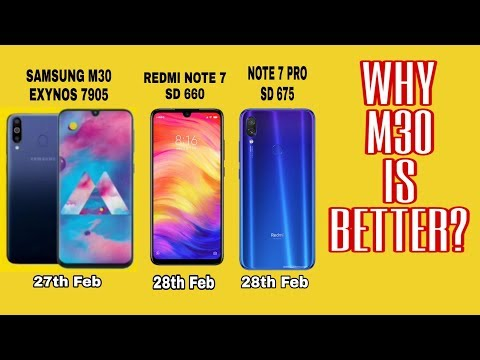 SAMSUNG GALAXY M30 IS BETTER THAN REDMI NOTE 7 AND NOTE 7 PRO ? REALLY?