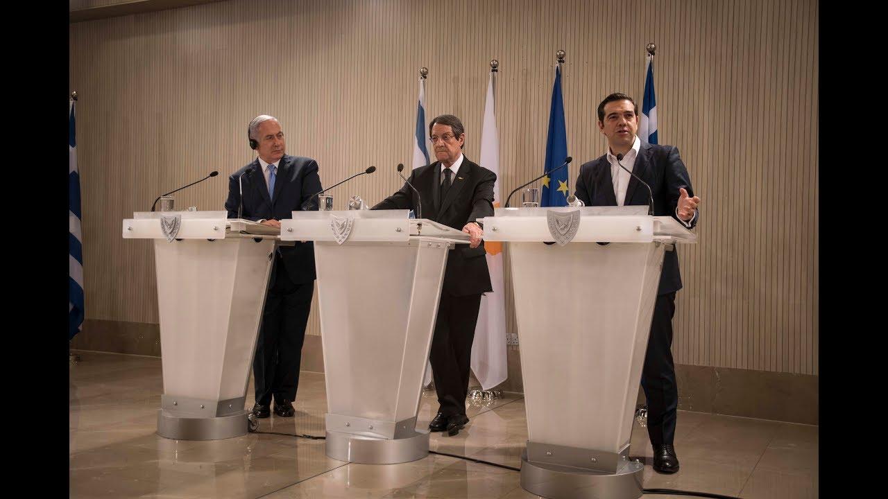 Δηλώσεις στο πλαίσιο της 4ης Συνόδου Κορυφής Ελλάδας – Κύπρου – Ισραήλ