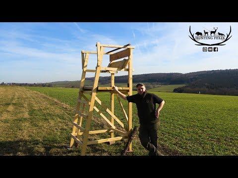 Hunting-Felix: Drückjagd- und Ansitzböcke selbst bauen mit Hunting Felix
