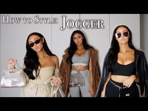 How to style SWEATPANTS - Lookbook | PaulinaMary