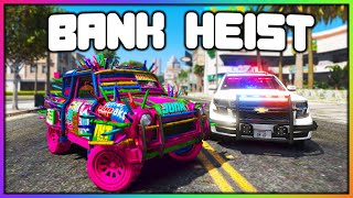 GTA 5 Roleplay - BANK HEIST WITH SPIKE CAR | RedlineRP