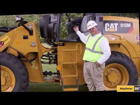 Cat® 910M Wheel Loader Walkaround