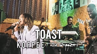 Koffee Featuring The Compozers   Toast LIVE
