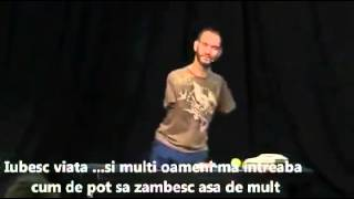 Nick Vujicic, barbatul nascut fara maini si picioare: Iubesc Viata!