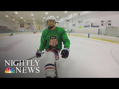 Rico Roman Served His Country Now He Plays For Team USA At The Paralympic Games   NBC Nightly News
