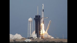 Watch: SpaceX rocket ship lifts off with 2 Astronauts