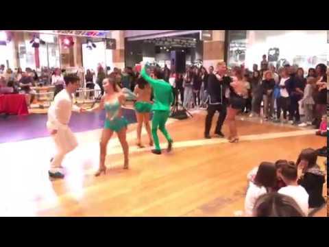 Salsa Cubana - Esibizione Centro Commerciale Gran Sasso