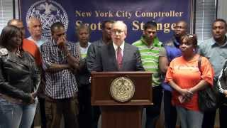 Comptroller Stringer Reaches Settlement for Workers Cheated Out of $1 Million in Prevailing Wages