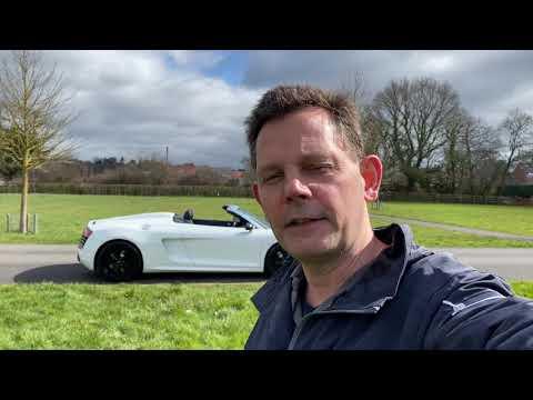 Audi R8 V10 Spyder STronic Video