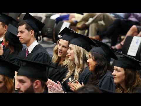 KU School of Business Spring 2019 MAcc Graduation Ceremony