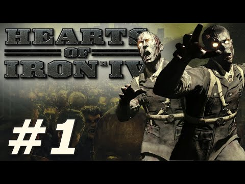 Hearts of Iron 4: Infection! - The Survivors (Part 1)