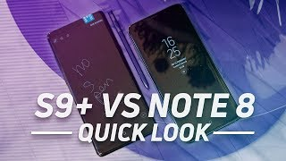 Samsung Galaxy S9/ Samsung Galaxy S9+ vs Samsung Galaxy Note8