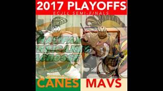 NB Mavericks vs Halifax Hurricanes , Playoff game #2 , ECJLL , July 15th 2017
