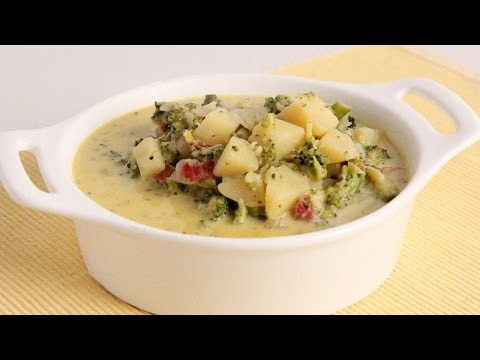 Cheesy Potato & Broccoli Soup – Laura Vitale – Laura in the Kitchen Episode 1010