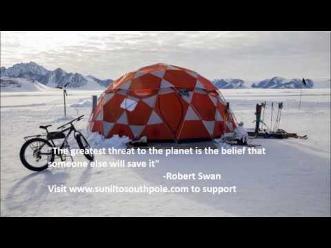 Support Sunil to represent India in World's first green South Pole expedition