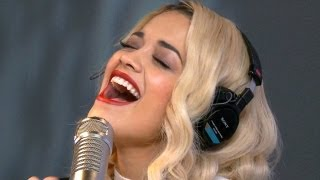 Rita Ora - Shine Ya Light (Acoustic on Ryan Seacrest) | Performance | On Air With Ryan Seacrest