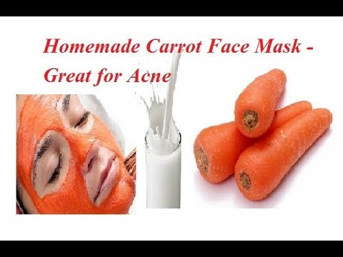 Face mask pagkatapos extruded acne