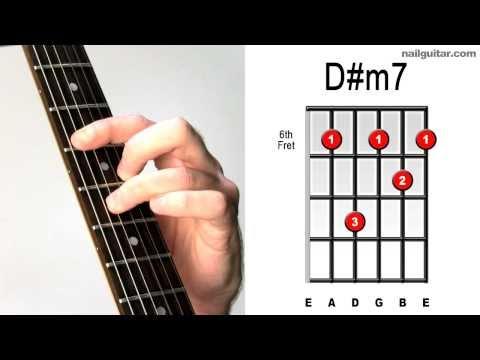 D#m7 - Learn Guitar Chords Quick & Easy Tutorial - Bar Chord Lesson ♫♬