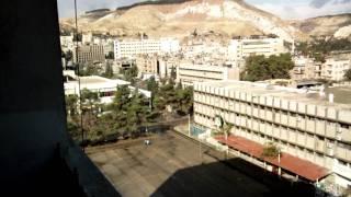preview picture of video 'damascus from my room _المدينة الجامعية'