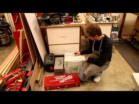 Throw Away Your Portable Power Tool Cases To Save Room In Your Workshop