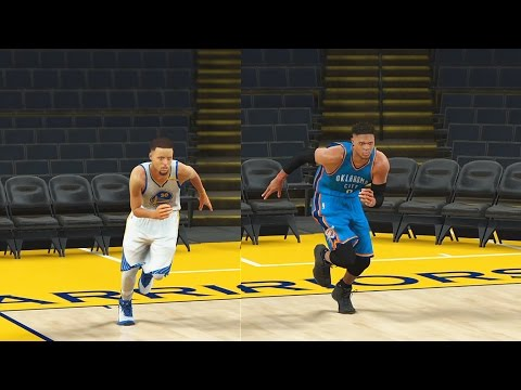 Who is the Fastest Point Guard in the NBA? Stephen Curry, Westbrook, or John Wall? NBA 2K17