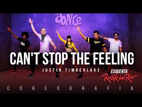Can't Stop The Feeling - Justin Timberlake | FitDance TV | Esquenta Rock in Rio 2017 | Dance Video