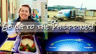 TRAVELLING TO THE PHILIPPINES!! WITH CHINA SOUTHERN AIRLINES