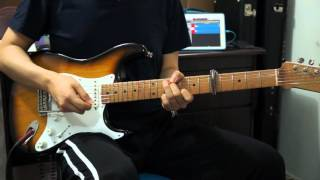 How to Play Whom Shall I Fear - Chris Tomlin - Electric Guitar by Nathan Park