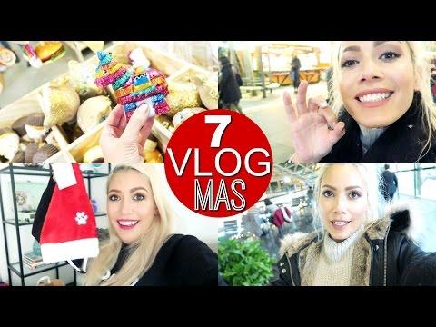 Christmas Shopping mit Mama, Haar Haul & Geschenk Unboxing | VLOGMAS 2016 funnypilgrim