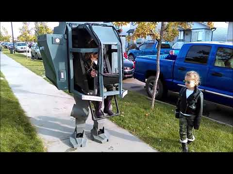 Mechwarrior Daddy-Daughter Costume