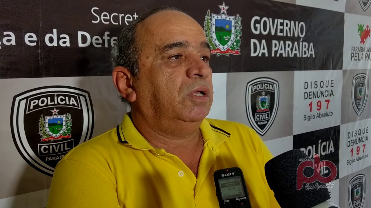 Delegado revela ter nomes que levam aos autores dos disparos que atingiram popular, e mataram Criança em Sousa