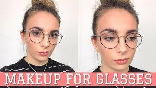 Makeup per chi indossa gli OCCHIALI | INGRANDIRE gli occhi con il trucco!