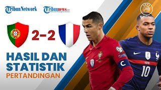 Highlight & Hasil Pertandingan Euro 2020 Portugal 2-2 Prancis, CR7 Selamatkan Selecao Das Quinas