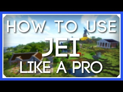 How To Use JEI Like a Pro! | JEI Tutorial | Just Enough Items Mod Tutorial