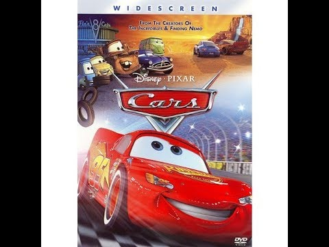 Opening To Cars 2006 DVD