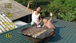 Lòng Bò 1 Nắng - Choáng Với Cái Nóng Mùa Hè Bắc Bộ Trên Mái Tôn