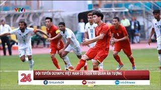 ĐT Olympic Việt Nam có trận ra quân ấn tượng tại ASIAD 2018 | VTV24
