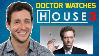 Real Doctor Reacts To HOUSE M.D. #3 | All In | Medical Drama Review