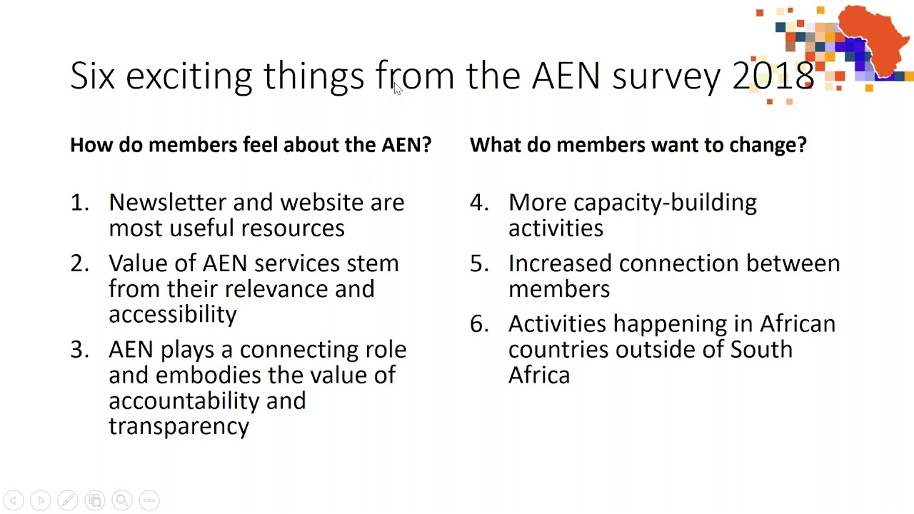 Africa Evidence Webinar #1: Launch webinar on evidence networks